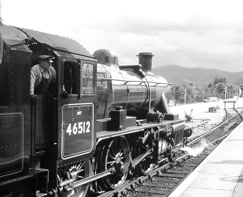 Speyside steam engine